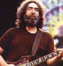 Jerry Garcia of Grateful Dead
