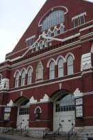 ryman auditorium, Nashville - former home of Grand Ole Opry